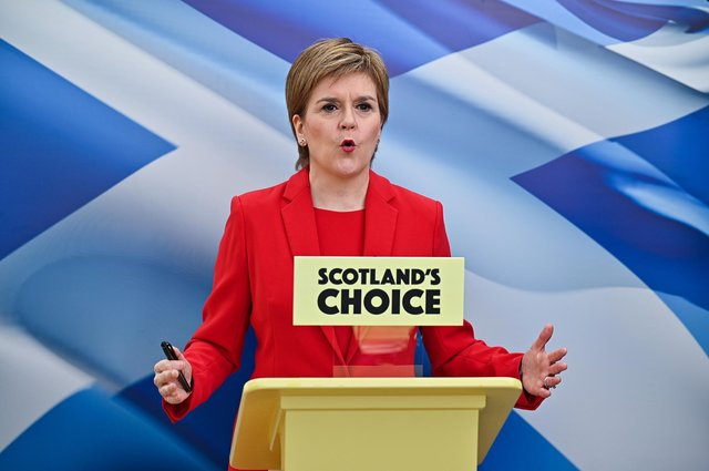 First Minister and leader of the Scottish National Party Nicola Sturgeon, will be judged on her record at the election on Thursday.