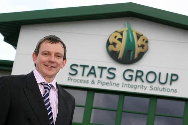 Stats Group Middle East director Angus Bowie. Picture: Simon Price