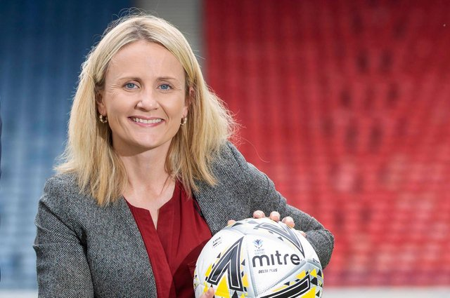 Fiona McIntyre has been appointed SFA head of girls' and women's football
