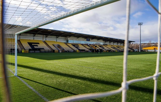A general view of East Fife's Bayview stadium