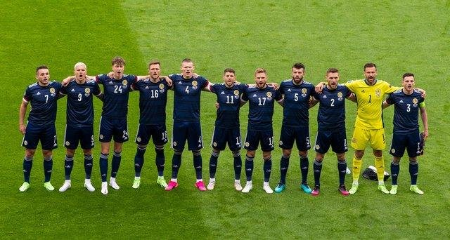 Scotland will take the knee alongside England at tonight's kick-off. (Image: Ross Parker/SNS Group)