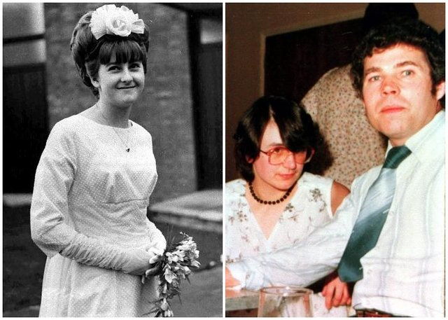 Mary Bastholm's disappearance had previously been linked to serial killer Fred West, right, pictured with Rosemary West.