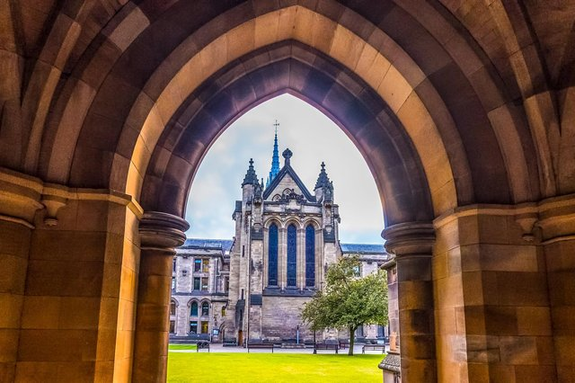 The University of Glasgow (pictured) was among Scottish institutions ranking in the top 20 for producing spin-outs. Picture: Getty Images.