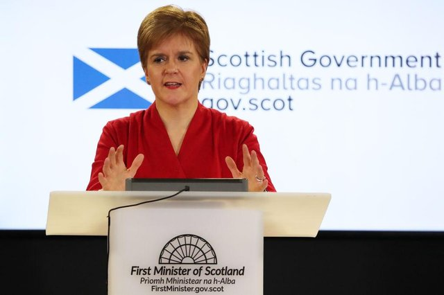 The First Minister Nicola Sturgeon has addressed the nation amid the coronavirus crisis.