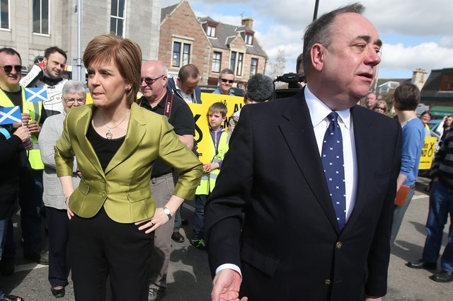 The falling out between Alex Salmond and his predecessor as First Minister, Nicola Sturgeon, has overshadowed the actual role of the MSPs' committee investigating the Scottish government's handling of harassment complaints. (Picture: Andrew Milligan/PA)