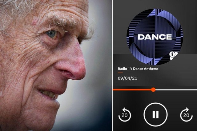 A video clip has emerged showing the moment a BBC Radio 1 station was awkwardly interrupted by the national anthem as news broke of the death of Prince Philip, the Duke of Edinburgh.