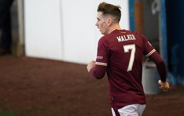 Jamie Walker wants to create more chances for Hearts.