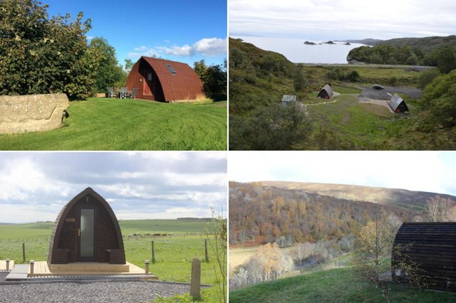 Here are ten of the best glamping spots in Scotland.