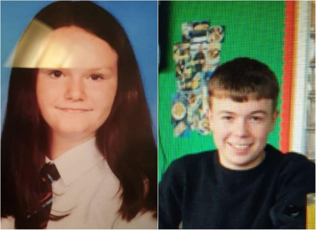 Amber McKinnon is missing from the Paisley area while Jason Junior Cochrane is missing from Strathpeffer.
