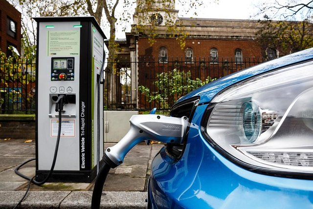 """Electric cars form one of the 10 key points made by Boris Johnson for a """"green industrial revolution"""" across the UK"""