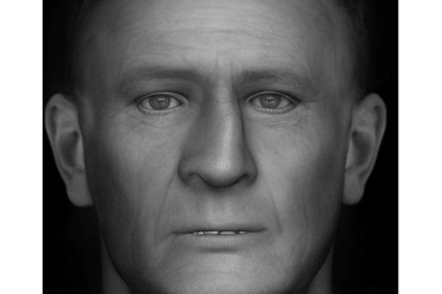 A new facial reconstruction image has been released by Police Scotland.