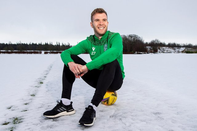 Chris Cadden happy to be back in Scottish football but he knows Rangers game will be  tough test after cup disappointment. Photo by Ross MacDonald / SNS Group