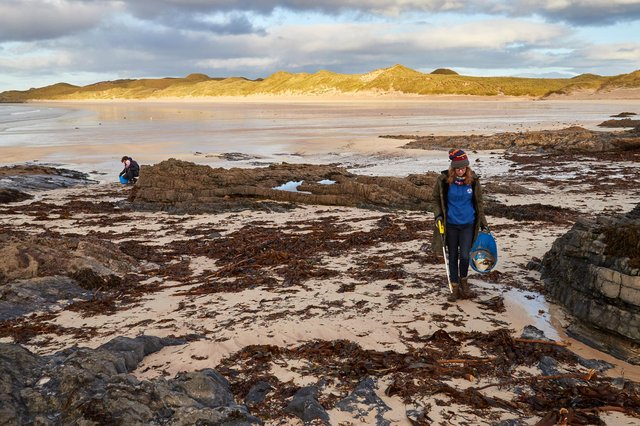 Joan D'Arcy is the founder of Plastic@Bay in Durness, North-west Scotland. Picture: contributed.