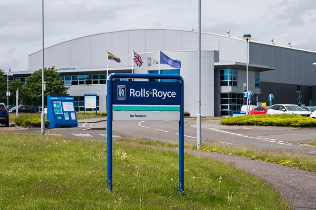 Rolls Royce is among the companies to make cuts in Scotland