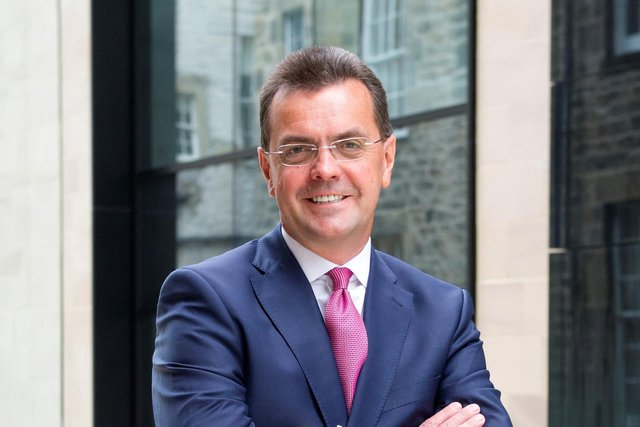 Stuart Pender, group chief executive of Lomond. Picture: Jane Barlow