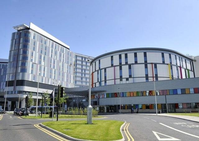 The Queen Elizabeth University Hospital in Glasgow.
