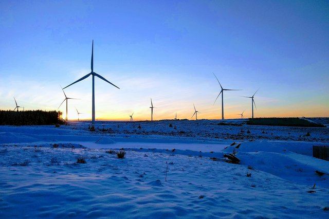SSE is one of the biggest players in the UK's renewables energy sector, which includes onshore and offshore wind.