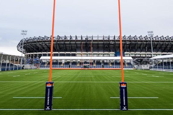 A view of the new Edinburgh Rugby stadium at BT Murrayfield. Picture: Ross Parker/SNS