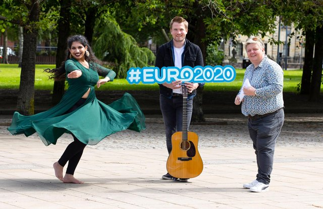 Comedian Susie McCabe, Tide Lines lead singer Robert Robertson and Himadri Madan of choreography initiative Agnya Movement will all take to the Fan Zone stage.