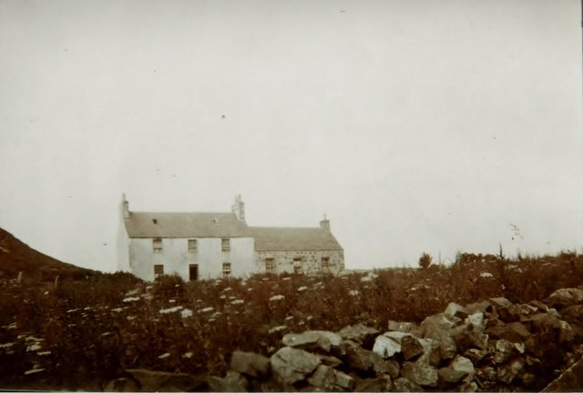 The former home of tacksman Ruaridh McDonald at Camuscross in the south of Skye where Katherine MacKinnon is said to have been fatally tortured. PIC: Skye and Lochalsh Archive Centre.