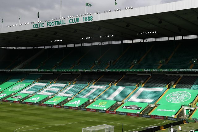 Celtic Park will host Davie Moyes and Frankie McAvoy's teams (Photo by Andrew Milligan/Pool via Getty Images)