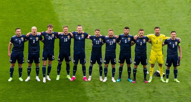 Scotland face England tonight. (Photo by Ross Parker / SNS Group)