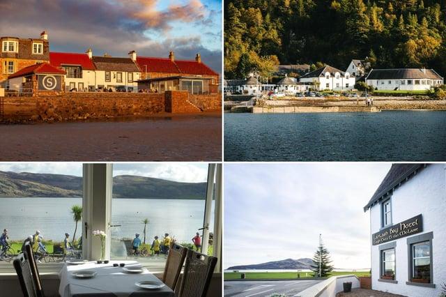 A few of Scotland's best-reviewed seaside hotels.