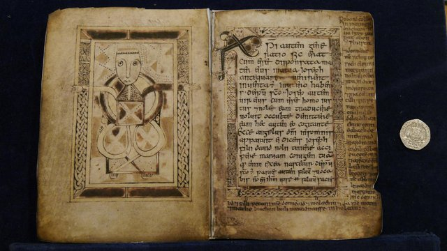The Book of Deer, which dates to between the 8th and 10th Century and contains the earliest example of written Scottish Gaelic, is coming back to Scotland to go on show.PIC: The Book of Deer Project.