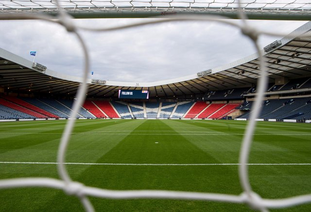 Hampden Park could host as many as 2,000 fans for the Scottish Cup final. Picture: SNS
