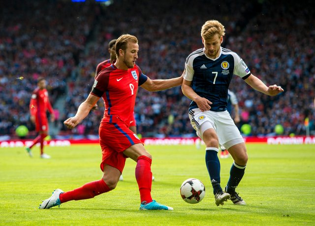 Scotland will face England for the first time since the pulsating 2-2 draw at Hampden Park in 2017. SNS Group Craig Williamson
