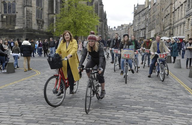 Free bike share in Scottish cities as lockdown eases