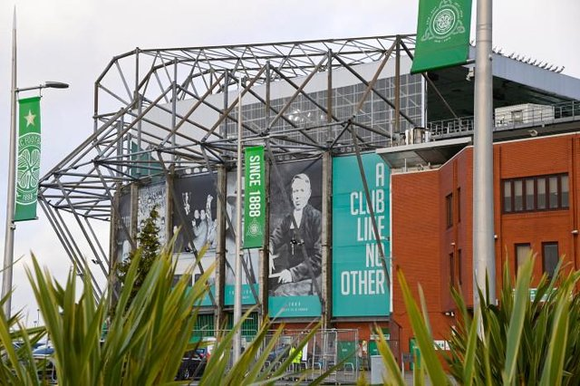 A general view ahead of a Scottish Premiership match between Celtic and Livingston at Celtic Park on January 16, 2021, in Glasgow, Scotland. (Photo by Rob Casey / SNS Group)