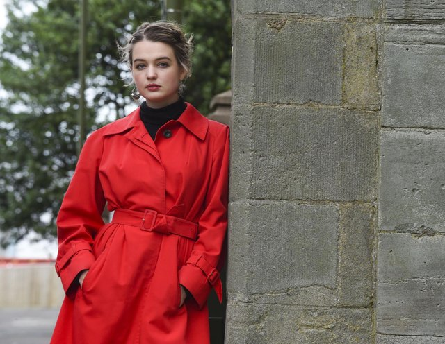 Actress Tallulah Grieive is the patron of Leith-based youth theatre company Strange Town.