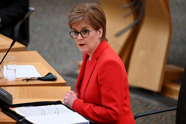 The First Minister will announce a lockdown roadmap detailing how restrictions will be gradually lifted (Getty Images)