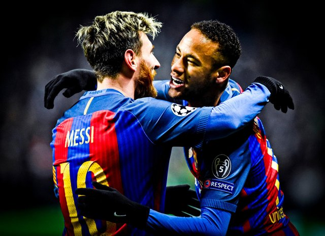 Former team Lionel Messi and Neymar will face off in the final this weekend. SNS Group Rob Casey
