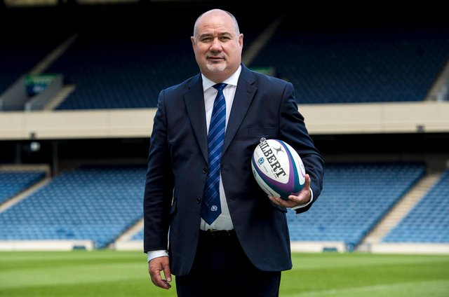 Scottish Rugby chief executive Mark Dodson. Picture: Alan Harvey/SNS