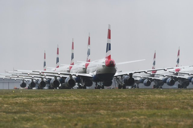 The industry has seen continued suppressed demand for aircraft due to the pandemic and international travel restrictions. Picture: John Devlin