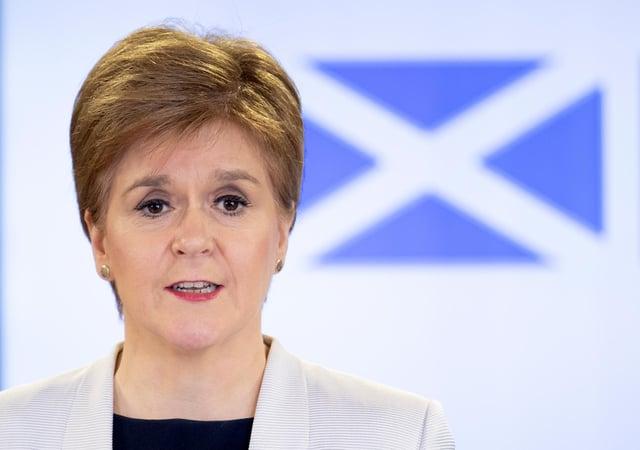 Nicola Sturgeon has announced new Covid-19 restrictions