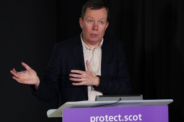 Jason Leitch is causing Nicola Sturgeon a problem