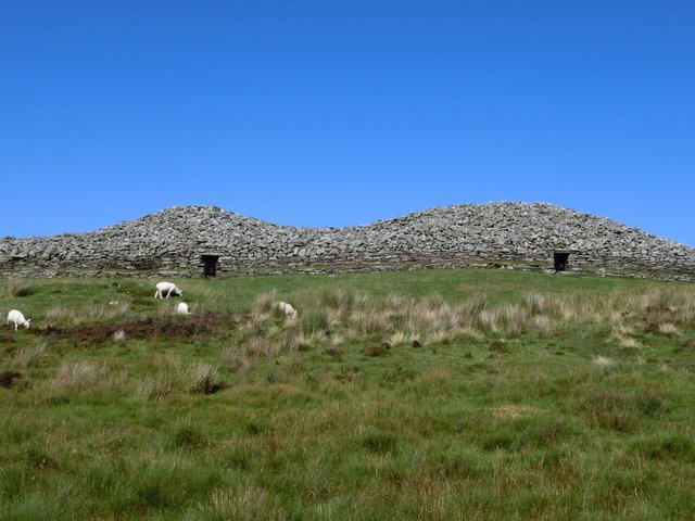 Camster Cairns in Caithness, which were originally built around 5,000 years ago, are among the best examples of ancient burial tombs in Scotland. They are now being used to inspire a modern trend for prehistoric-style burials. PIC: Orikrin1998.