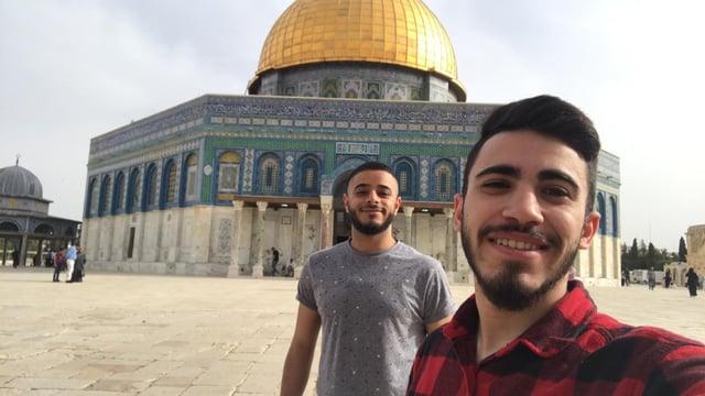 Rami Idkedek and Yousef Asmar