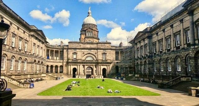 Edinburgh University. Pic: Shutterstock