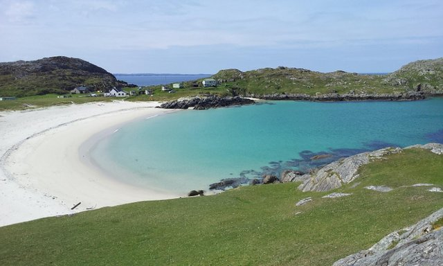 Achmelvich Beach in Lochinver has been named as the cleanest in Scotland following one analysis of UK Government data. PIC: Steve Bittinger/Flickr/CC.