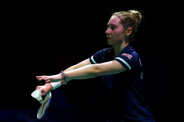 Kirsty Gilmour defeated Lianne Tan of Belgium in the quarter-finals of the European Championships.