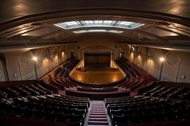 Leith Theatre's main hall