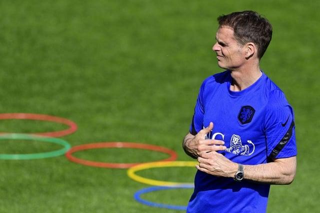 The Netherlands' national coach Frank de Boer  (Photo by OLAF KRAAK/ANP/AFP via Getty Images)