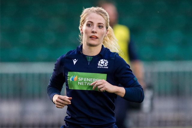 Scotland scrum-half Jenny Maxwell returns to the starting XV after a serious knee injury. Picture: Ross Parker / SNS