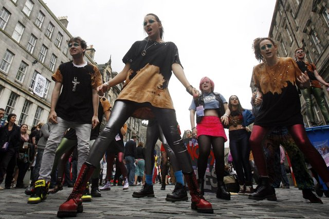 Giving crowds and performers more space could make Edinburgh Festival Fringe even better (Picture: Danny Lawson/PA)