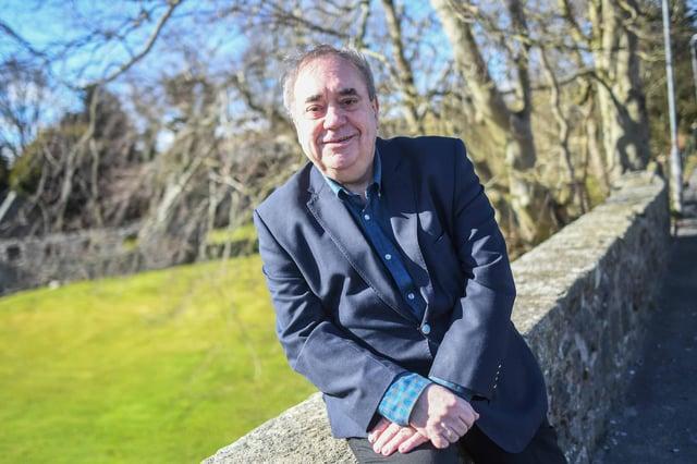 Alex Salmond in Strichen