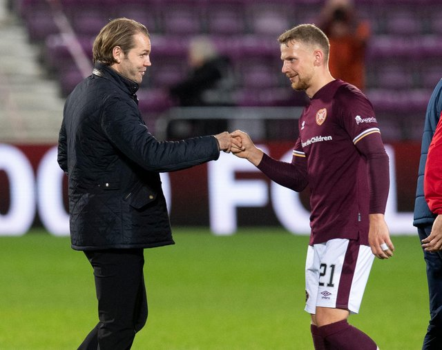 Robbie Neilson is delighted to keep Stephen Kingsley at Hearts.